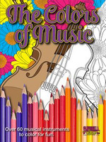 The Colors of Music Coloring Book