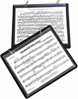 Marching Band Flip Folder With 8 Window Sleeves
