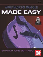 World Music for Mandolin Made Easy - Book & Online Audio