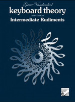Keyboard Theory - Intermediate Rudiments 2nd Edition TVT02