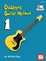 Children's Guitar Method Volume 1 Book + Online Audio/Video