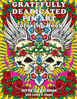 Gratefully Deadicated Pin Art: Coloring Book