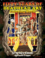 Fifty Years of Deadhead Art: Coloring Book