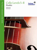 Cello Etudes Levels 5 - 8 - 2013 Edition VCS2