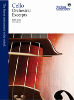 Cello Orchestral Excerpts - 2013 Edition VCE1