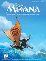 Moana - Music from the Motion Picture Soundtrack Piano/Vocal/Guitar Songbook