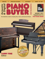 Acoustic & Digital Piano Buyer Spring 2017