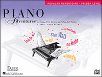 Piano Adventures® Primer Level – Popular Repertoire Book