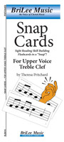 SnapCards for Upper Voice Treble Clef