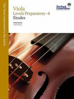 Viola Etudes Levels Preparatory-4, Viola Series, 2013 Edition VAS1