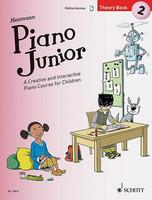Piano Junior: Theory Book 2 - A Creative and Interactive Piano Course for Children