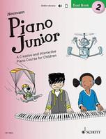 Piano Junior: Duet Book 2 - A Creative and Interactive Piano Course for Children