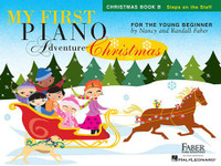My First Piano Adventure® Christmas – Book B  Steps on the Staff