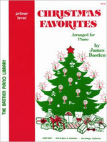 Bastien Piano Library: Christmas Favorites, Primer
