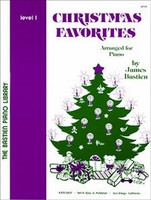 Bastien Piano Library: Christmas Favorites, Level 1