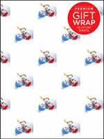 Hal Leonard Wrapping Paper - Snowman Theme