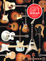 Hal Leonard Wrapping Paper – Guitar Collage Theme