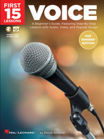 First 15 Lessons - Voice (Pop Singers' Edition)
