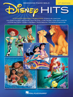 Disney Hits - 2nd Edition Beginning Piano Solo Songbook
