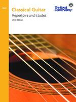 Preparatory Classical Guitar Repertoire and Etudes 2018 Edition