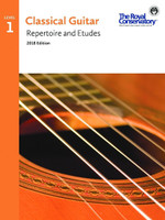 Classical Guitar Repertoire and Etudes Level 1 2018 Edition