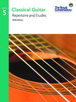 Classical Guitar Repertoire and Etudes Level 5 2018 Edition