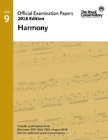 Official Examination Papers Level 9 Harmony 2018 Edition