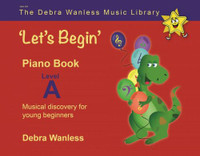 'Let's Begin' Piano Book Level A