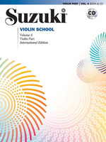 Suzuki Violin School, Volume 6 - Violin Book & CD