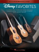 Disney Favorites Ukulele Ensembles Early Intermediate
