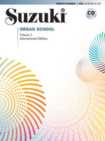Suzuki Organ School, Vol. 1 Book & CD