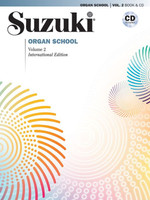 Suzuki Organ School, Vol. 2 Book & CD