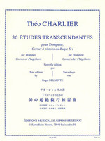 36 Etudes Transcendantes for Trumpet