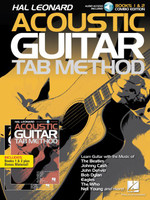 Hal Leonard Acoustic Guitar Tab Method - Combo Edition