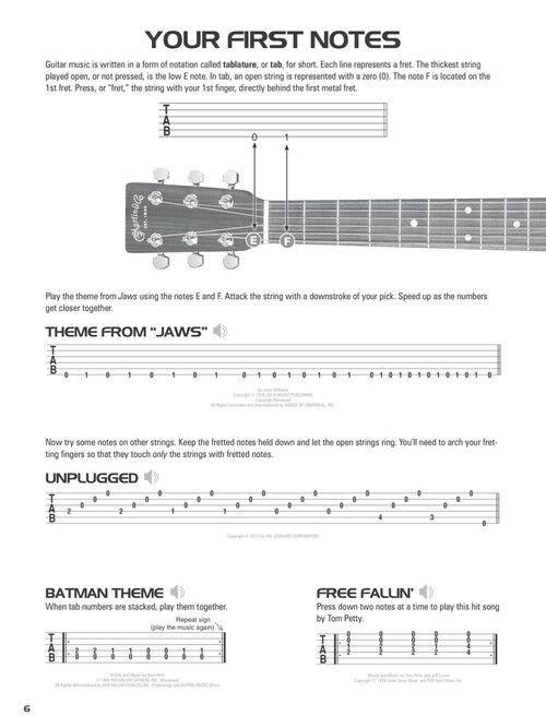 Hal Leonard Acoustic Guitar Tab Method - Combo Edition