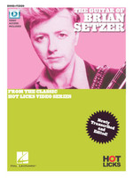 The Guitar of Brian Setzer  - Book & Online Video