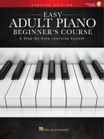 Easy Adult Piano Beginner's Course - Updated Edition