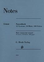 Henle Music Manuscript Notepad