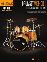 Hal Leonard Drumset Method – Left-Handed Edition
