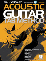 Hal Leonard Acoustic Guitar Tab Method – Book 1