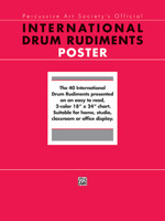 International Drum Rudiments - Poster