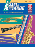 Accent on Achievement, Book 1 - Flute Book & CD