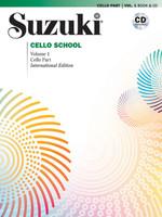 Suzuki Cello School, Volume 1 Book & CD