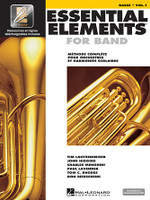 Essential Elements for Band avec EEi Vol. 1 – Basse (Bass Clef)