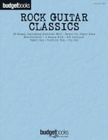 Budget Books: Rock Guitar Classics