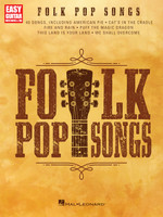 Folk Pop Songs for Easy Guitar with Notes & Tab