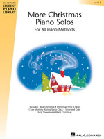 More Christmas Piano Solos – Level 3 Hal Leonard Student Piano Library