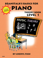 Beanstalk's Basics for Piano Theory Book - Book 1