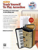 Alfred's Teach Yourself to Play Accordion -  Book, DVD & Online Video/Audio/Software