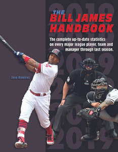 Bill James Handbook 2019 SPIRAL (in stock and only available here!)